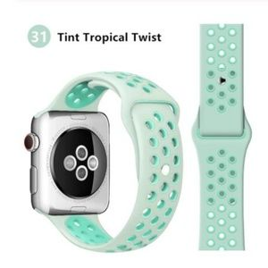 ❤️NEW Tint Sport Silicone Band For Apple Watch